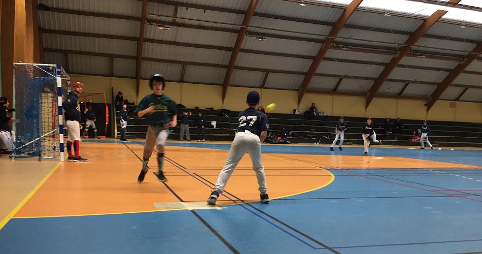 Championnat départemental 15U softball indoor