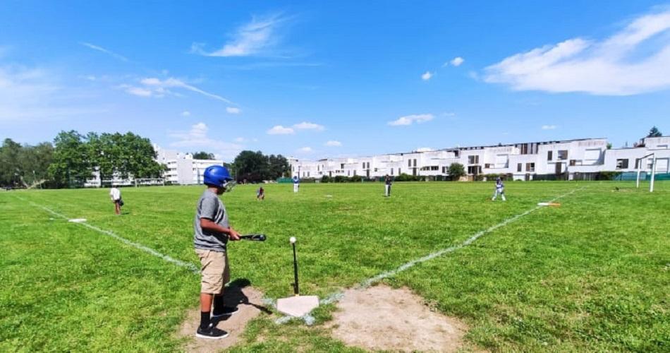 Baseball au stade des pampres des Ulis