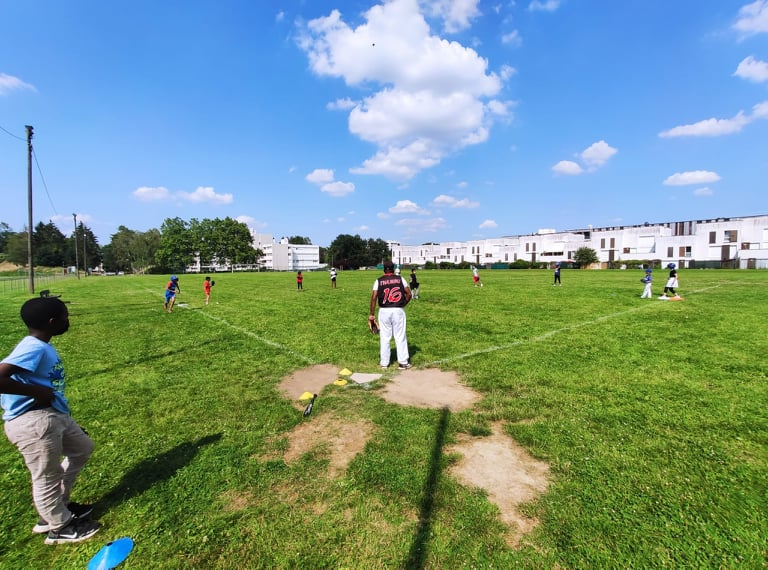 baseball aux ulis